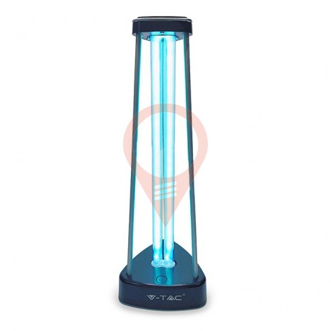 38W UV-C Germicidal Lamp with Ozone for 60m2