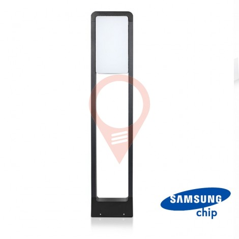 10W LED Bollard Lamp SAMSUNG Chip Black Body IP65 3000K