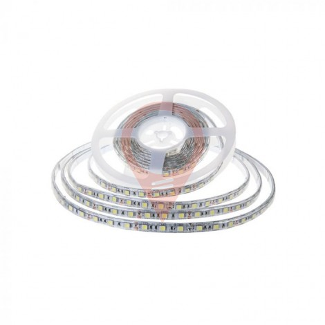 LED Stip SMD2835 - 120 LEDs 24V IP65 4000K Double PCB 10m Roll
