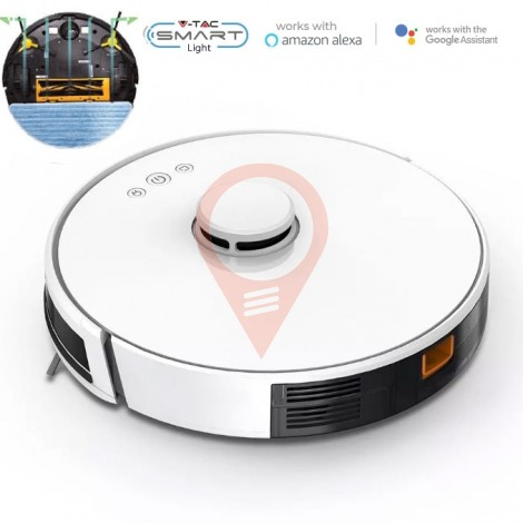 Vacuum Cleaner Auto Charging Gyro Robotic Laser Compatible With Amazon Alexa And Google Home
