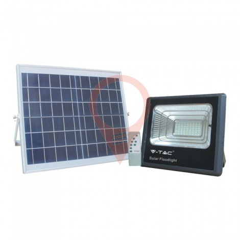 16W Solar Panel with LED Floodlight 6000K