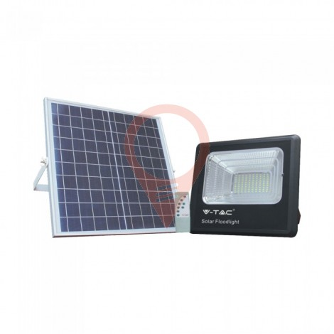20W Solar Panel with LED Floodlight 6000K