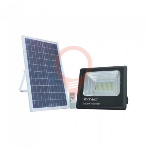 35W Solar Panel with LED Floodlight 6000K