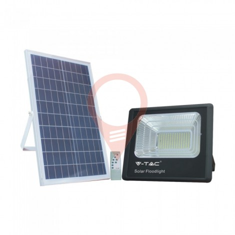 40W Solar Panel with LED Floodlight 6000K