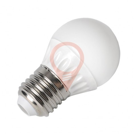 LED Bulb - 4W E27 P45 Warm White
