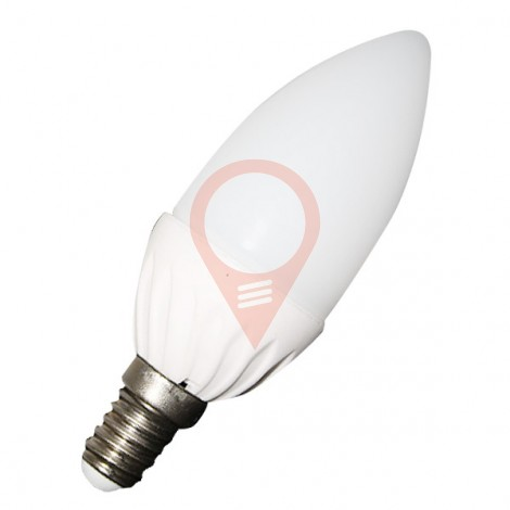 LED Bulb - 4W E14 Candle White