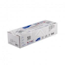 LED Spotlight SAMSUNG CHIP - GU10 5W White Plastic 3000K 12Pcs/Pack