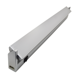 10W LED Cabinet Rotatable Fitting - Warm White, 60 cm