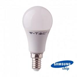 LED Bulb - SAMSUNG Chip 9W E14 Plastic A60 6400K