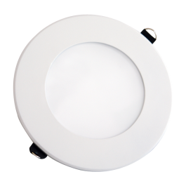 8W LED Mini Panel Without Driver - Round, White