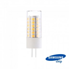 LED Spotlight SAMSUNG CHIP - G4 3.5W Plastic 3000K