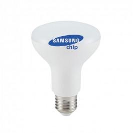LED Bulb - SAMSUNG CHIP 10W E27 R80 Plastic Warm White