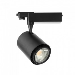 45W LED COB Tracklight Black Body 3 in 1