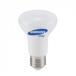 LED Bulb - SAMSUNG Chip 8W E27 R63 Plastic 4000K