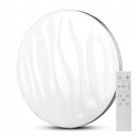 60W LED Designer Dome Light 3 in 1 Remote Control Dimmable Round Wave