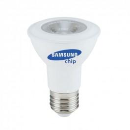 LED Bulb - SAMSUNG Chip 7W E27 PAR20  Plastic 4000K