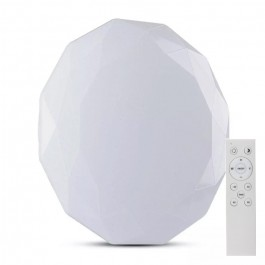 60W LED Designer Dome Light 3 in 1 Remote Control Dimmable Diamond