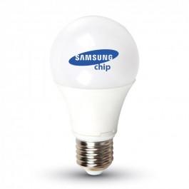 LED Bulb Samsung chip - 9W E27 A58 Plastic White