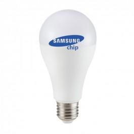 LED Bulb - SAMSUNG CHIP 6.5W E27 A++ A60 Plastic White light