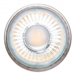 LED Spotlight - 5W GU10 Glass Cup with lens White Blister