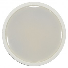 LED Spotlight - 5W GU10 SMD White Plastic, Warm White