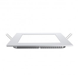 6W LED Premium Panel Downlight - Square White