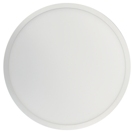 18W LED Surface Panel Premium- Round Natural White