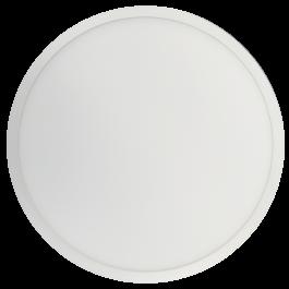 18W LED Surface Panel Premium - Round White