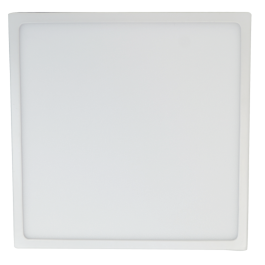 18W LED Surface Panel Premium - Square Natural White