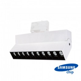 25W LED Linear Trackight SAMSUNG Chip White Body 4000K