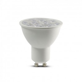 LED Spotlight SAMSUNG Chip GU10 6W Ripple Plastic Lens Cover 10° 6400K