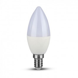 LED Bulb SAMSUNG Chip 5.5W E14 Plastic Dimmable Candle 3000K