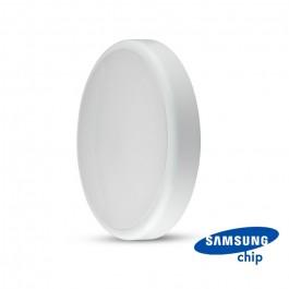 LED Dome Light SAMSUNG Chip 24W IP65 Sensor IK08 Emergency Battery 3 in 1 White