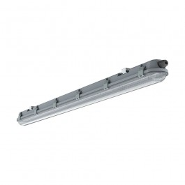 LED Waterproof Fitting M-Series 1500mm 48W 4000K Transparent 120lm/W