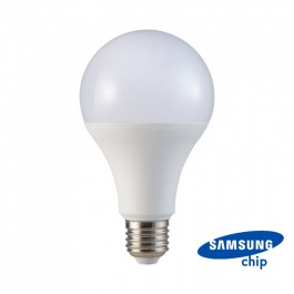 LED Bulb - SAMSUNG CHIP 20W E27 A80 Plastic 6400K