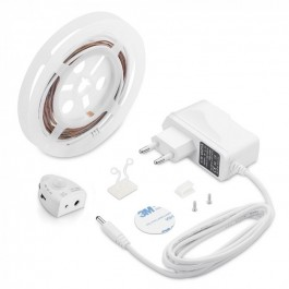 LED Bedlight with Sensor Single Bed Warm White