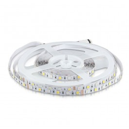 LED Strip 5050 - 60 LEDs 12V IP20 RGB + Warm White A++ 5 m