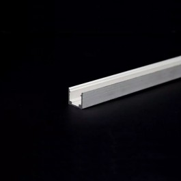 LED Strip Mounting Kit With Diffuser Aluminum Surface 2000mm