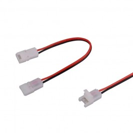 Connector for LED Strip 8mm Dual Head