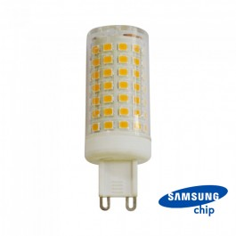 LED Spotlight - 7W G9 Plastic 3000K