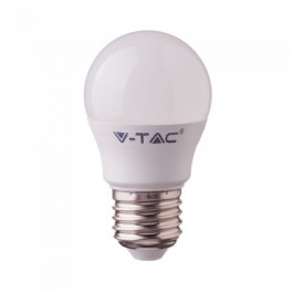 LED Bulb - 3.5W E27 G45 RF Control RGB + 4000K