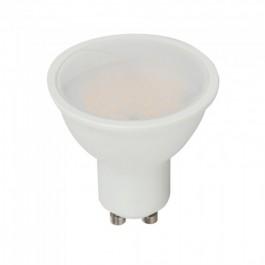 LED Spotlight - 3.5W GU10 Milky Cover RF Control RGB + 4000K