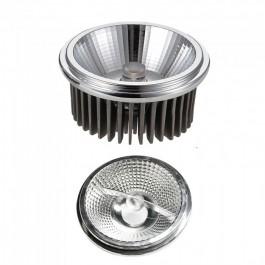 LED Spotlight - AR111 20W Changeable Reflector 40`D/20`D Silver 3000K