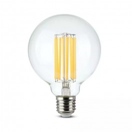 LED Bulb 18W Filament E27 G95 Clear Cover 135 lm/W 3000K