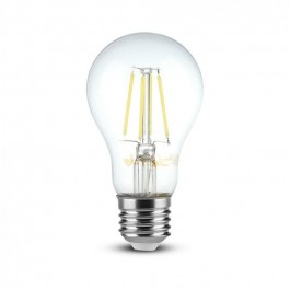 LED Bulb - 8W Filament E27 A65 Dimmable 3000K
