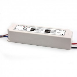 LED Plastic SLIM Power Supply 100W IP67 12V