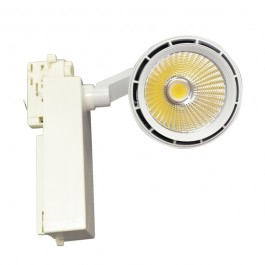 33W LED Track Light White  Body Natural White