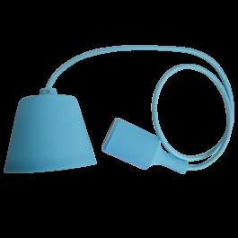 E27 Pendant Holder Light Blue Body