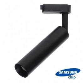15W LED Tracklight SAMSUNG CHIP Black Body White light