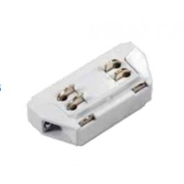 4I Track Light Connector White Mini